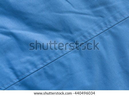 Abstract color cloth texture with stitch. Background and texture for design - stock photo