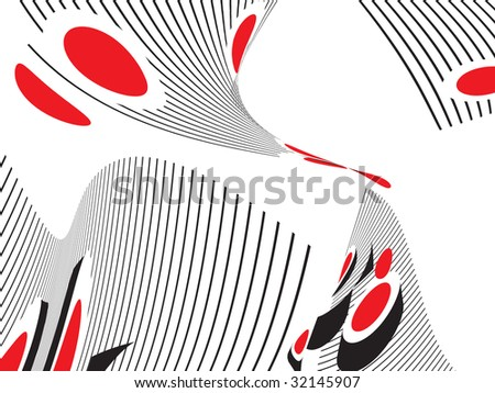 Abstract color fantastic background