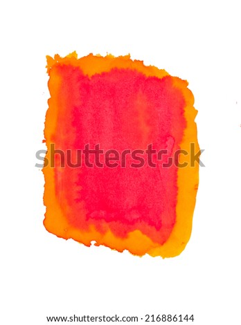 abstract color painting  on background  - stock photo