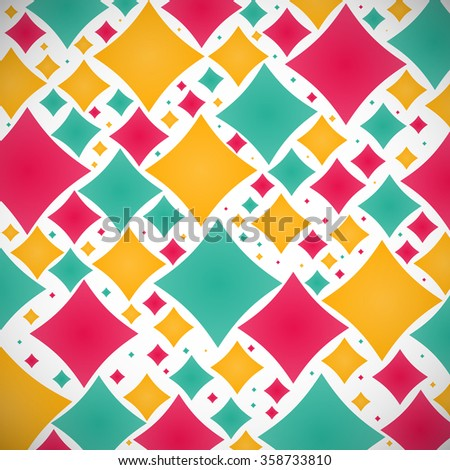 abstract colored elegant figures on the gray background. stock illustration