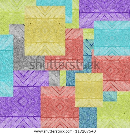 abstract colored stones for background - stock photo