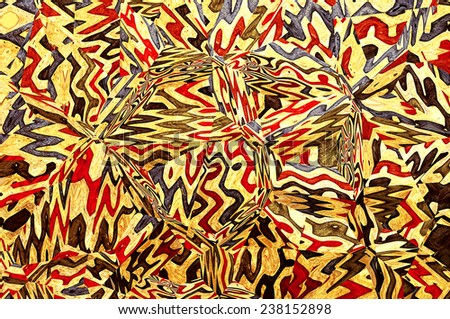Abstract colorful artistic background - stock photo