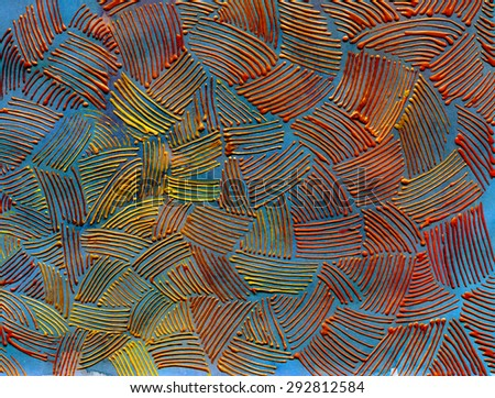 abstract colorful artistic texture. illustrative background - stock photo