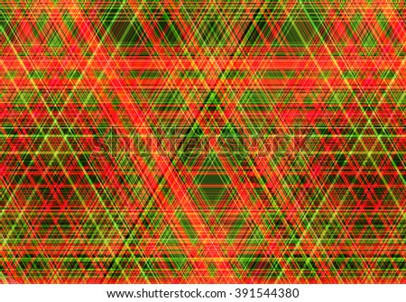 Abstract colorful background created using horizontal and diagonal stripes. Neon colors. Illustration. Can be used for posters, flyers, or webdesign.