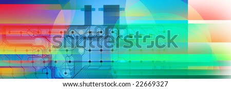 Abstract colorful background For Web Template 4