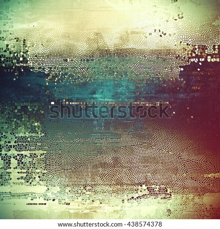Abstract colorful background or backdrop with grunge texture and different color patterns: yellow (beige); brown; green; blue; purple (violet); pink - stock photo