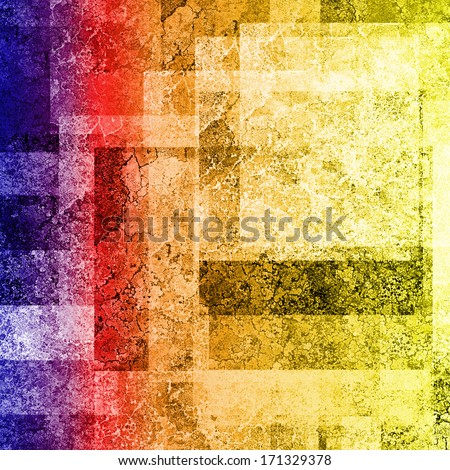 abstract colorful background, rainbow colors - stock photo