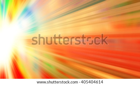 Abstract colorful background with colorful sun rays - stock photo