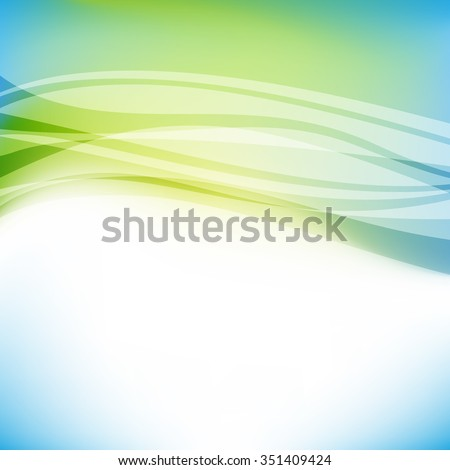 Abstract colorful blue and green background