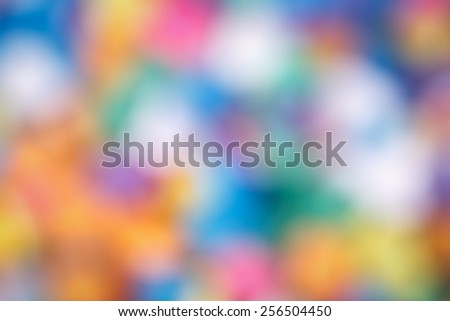 Abstract colorful blurry background, cold and warm colors tone, cinematic effect - stock photo