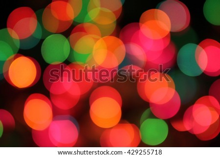abstract colorful bokeh background. blurred background - stock photo