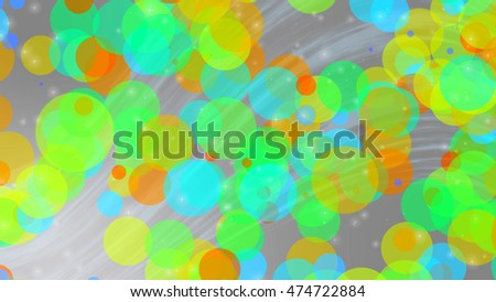 abstract colorful bright bokeh for background
