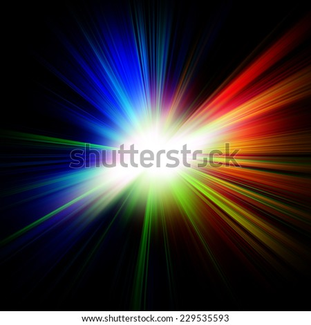 abstract colorful burst background