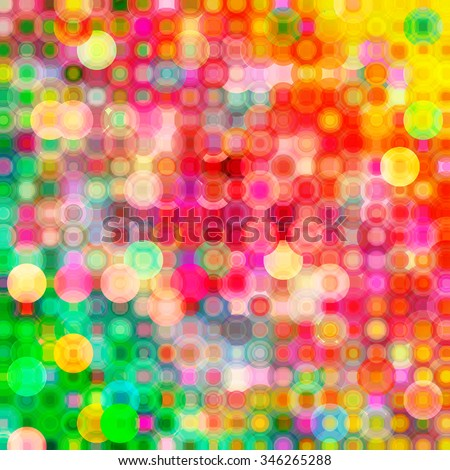 Abstract colorful circles background - stock photo