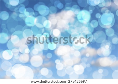 Abstract colorful circular bokeh background