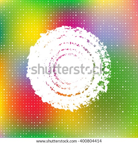 Abstract colorful cover, raster version - stock photo