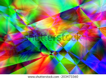 Abstract colorful light motion background - stock photo