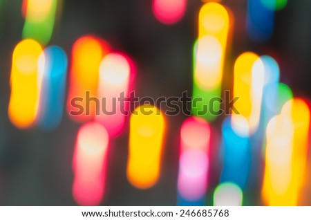 abstract colorful lights motion blur - stock photo