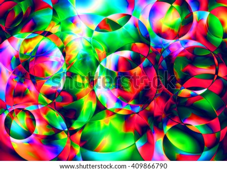 Abstract colorful organic background