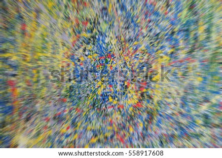 abstract colorful paint on wall (texture)