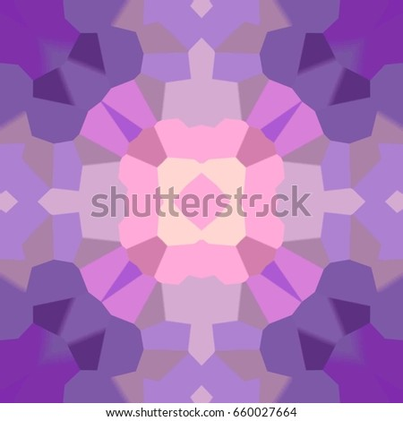 Abstract Colorful Painted Kaleidoscopic. Light Design
