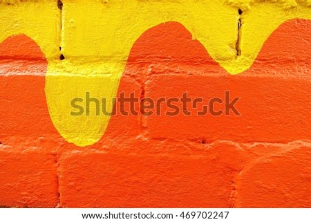 abstract colorful pattern concrete wall background in thai temple at southern Thailand,,select focus with shallow depth of field:ideal use for background.