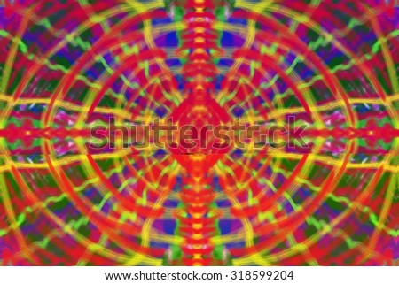 Abstract colorful pattern, modern boho background with lines