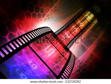 Abstract Colorful photographic background - stock photo