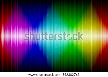 Abstract colorful spectrum wave background