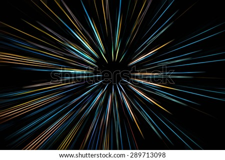 abstract  colorful speed motion blur background