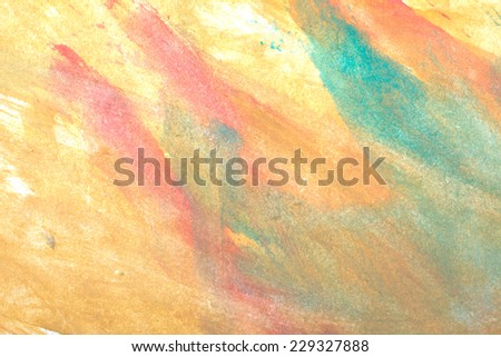 Abstract colorful watercolors background - stock photo