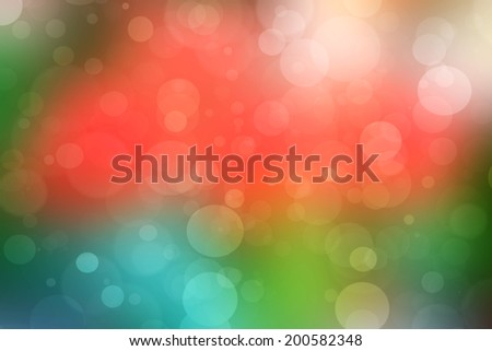 Abstract colorfull bokeh lights background.