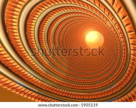 Abstract Communications - stock photo
