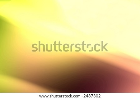 abstract composition, liquid gold - stock photo
