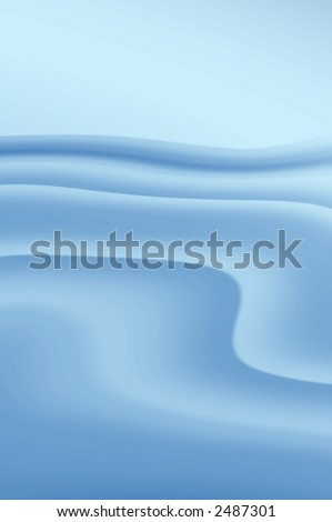 abstract composition, Sea and sky digital artwork - stock photo
