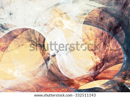 Abstract concept dynamic bright color background. Modern futuristic motion composition with lighting effect. Fractal art for creative graphic design