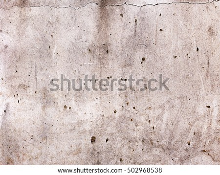 Abstract concrete, weathered with cracks and scratches. Landscape style. Great background or texture.