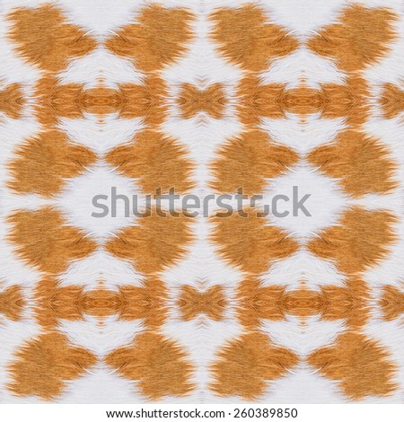 Abstract cow fur pattern background. - stock photo