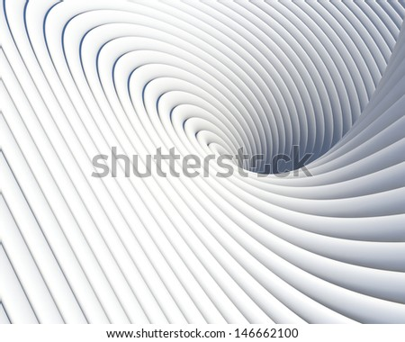 Abstract creative concept. Elegant geometric imagination background - stock photo