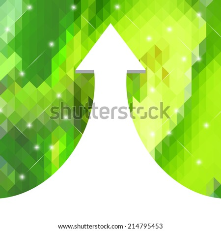 Abstract creative concept vector background. Raster version