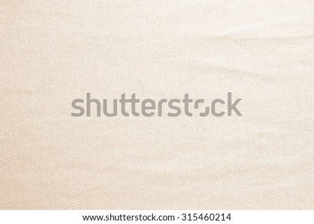 Abstract crumpled old rose colors fabric texture backgrounds : creased fabric textures in bright beige color tone. - stock photo