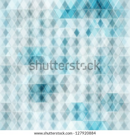 abstract crystal seamless background (raster version) - stock photo