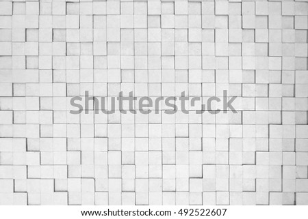 abstract cube background-white