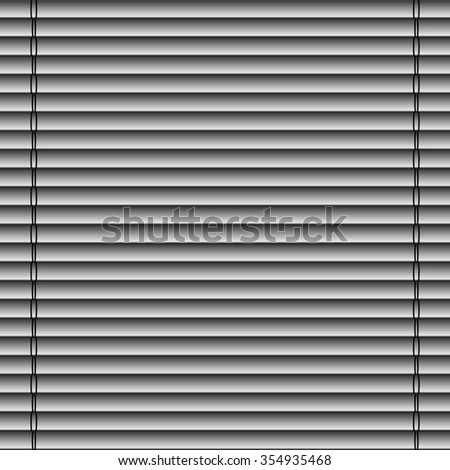 abstract curtain with jalousie with straight lines on dark background. raster illustration