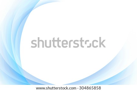 abstract curve background with white text space - stock photo