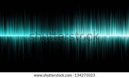 Abstract cyan wave colours background
