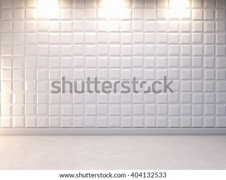 abstract 3d decorative wall background , 3d rendering