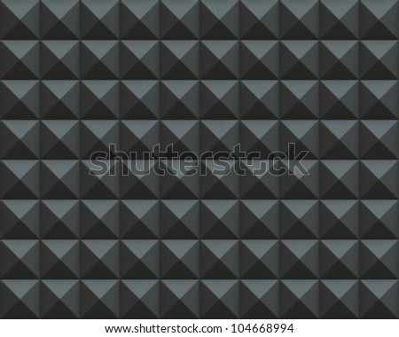 Abstract 3d render of pyramid textures