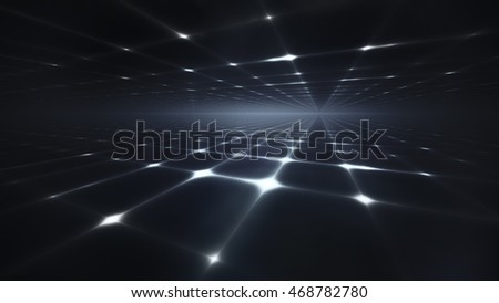 Abstract dark background with the horizon