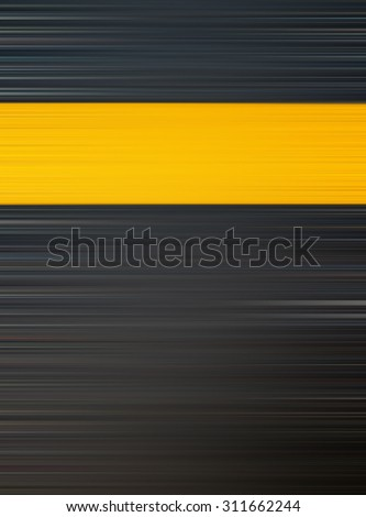 Abstract dark background with yellow line for put your text